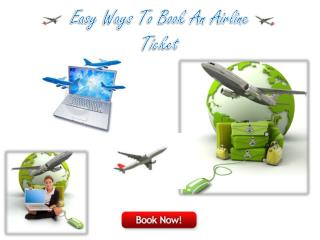 Easy Ways to Book An Airline Ticket