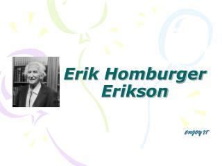 Erik Homburger Erikson