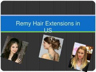 Tape Hair Extensions in US