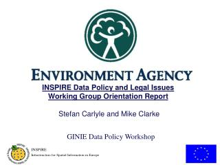 GINIE Data Policy Workshop