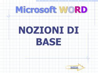 Microsoft  W O R D