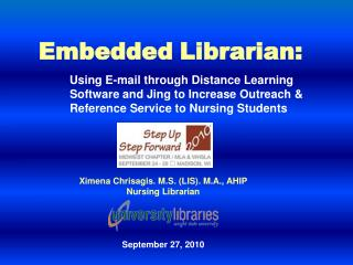 Embedded Librarian: