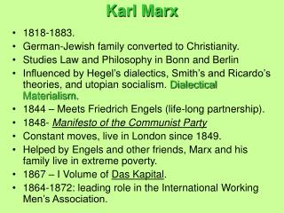 an introduction to the lives of karl marx and friedrich engel View karl marx and friedrich engels in camden, london in a larger map   gives a full introduction to marx's ideas, legacy and life in london.