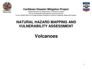 VOLCANIC HAZARD MAPPING AND VULNERABILITY ASSESSMENT