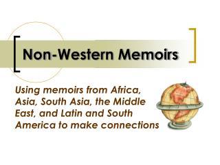 Non-Western Memoirs