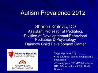 Autism Prevalence 2012