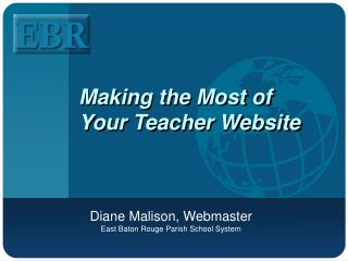 Making the Most of Your Teacher Website