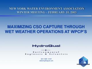 NEW YORK WATER ENVIRONMENT ASSOCIATION WINTER MEETING   FEBRUARY 10, 2003