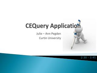 CEQuery  Application