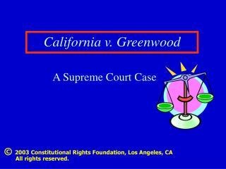 California v. Greenwood