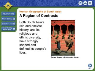 Human Geography of South Asia: