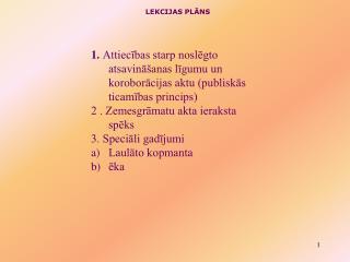 LEKCIJAS PLĀNS