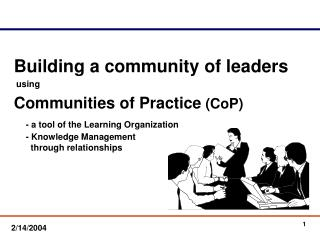 Building a community of leaders  using Communities of Practice CoP - a tool of the Learning Organization     - Knowledge
