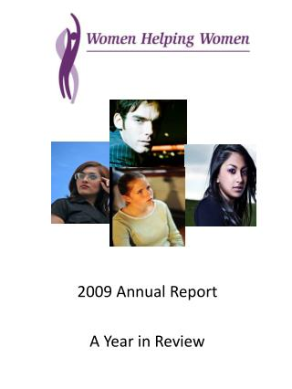 2009 Annual Report  A Year in Review