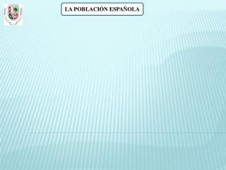 POBLACION ESPAÑOLA