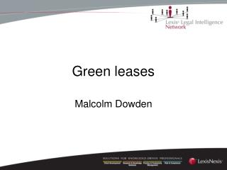 Green leases