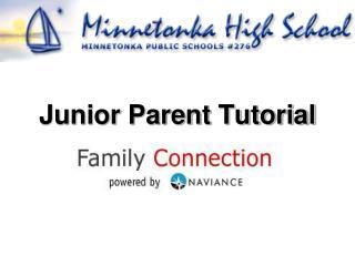 Junior Parent Tutorial