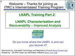 LNAPL Training Part 2:    LNAPL Characterization and Recoverability   Improved Analysis