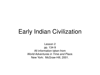 India n Civilization