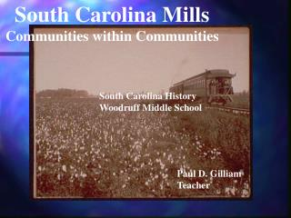 South Carolina Mills Communities within Communities
