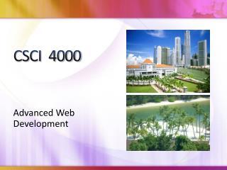 CSCI  4000