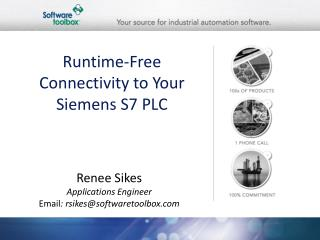Runtime-Free Connectivity to Your Siemens S7 PLC