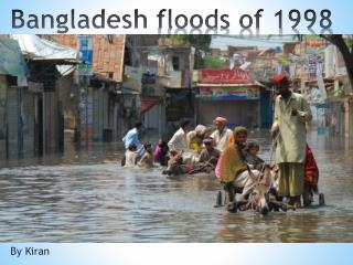 Bangladesh  floods of 1998