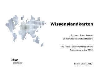 Student: Roger Lorenz Wirtschaftsinformatik (Master)