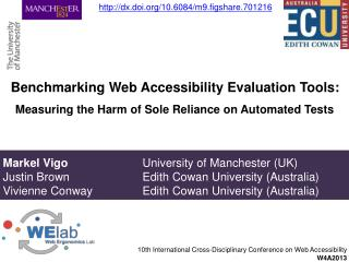 Benchmarking Web Accessibility Evaluation Tools:
