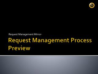 Request Management Process Preview
