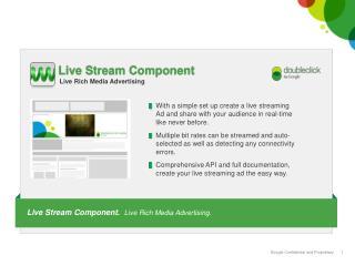 Live Stream Component