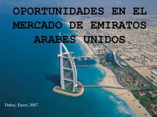 OPORTUNIDADES EN EL MERCADO DE EMIRATOS ARABES UNIDOS