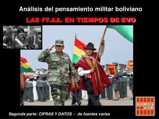 Análisis del pensamiento militar boliviano LAS FF.AA. EN TIEMPOS DE EVO