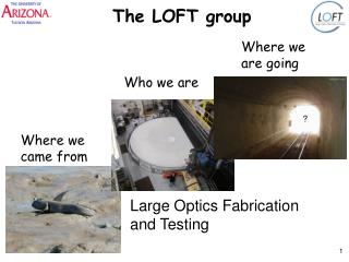 The LOFT group