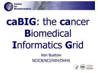 CaBIG: the cancer Biomedical Informatics Grid