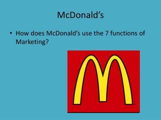 McDonald�s