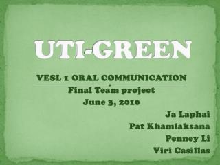 UTI-GREEN