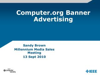 Computer Banner Advertising