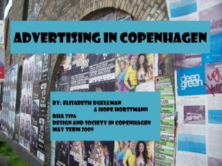 Advertising in Copenhagen
