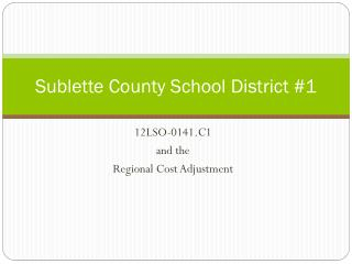 Sublette County School District #1