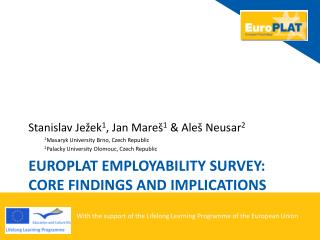 Euro p lat employability survey: core findings and implications