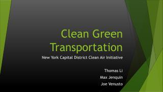 Clean Green Transportation