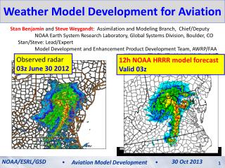 Weather Model Development for Aviation