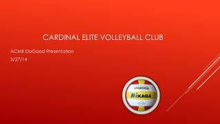 Cardinal Elite Volleyball Club