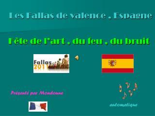 Les Fallas de valence , Espagne