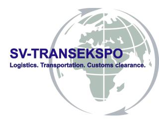 SV - TRANSEKSPO Logistics .  Transportation .  Customs clearance .