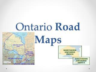 Ontario  Road Maps