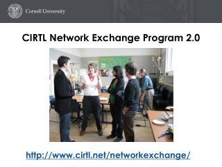 CIRTL Network Exchange Program 2.0
