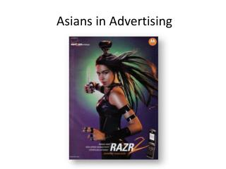 Asians in Advertising