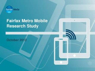 Fairfax Metro Mobile Research Study